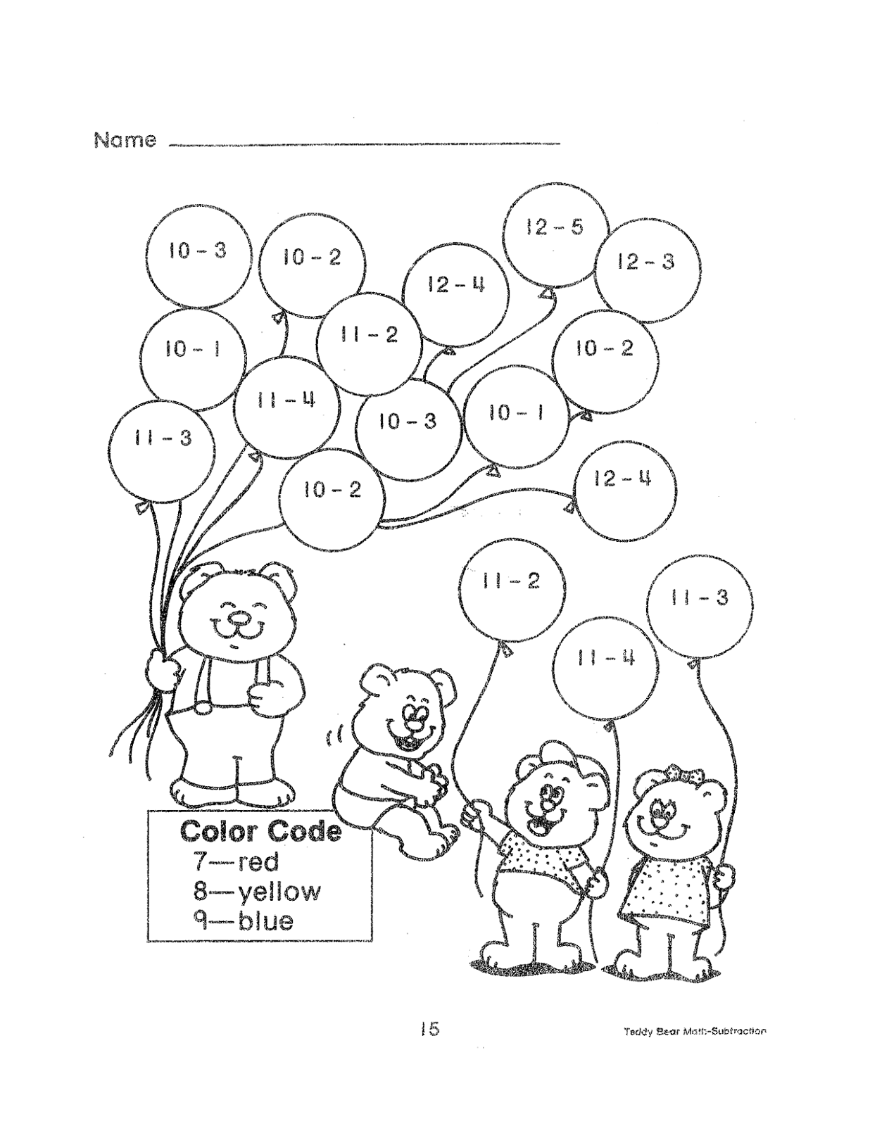 2nd Grade Math Color By Number Coloring Pages Sketch