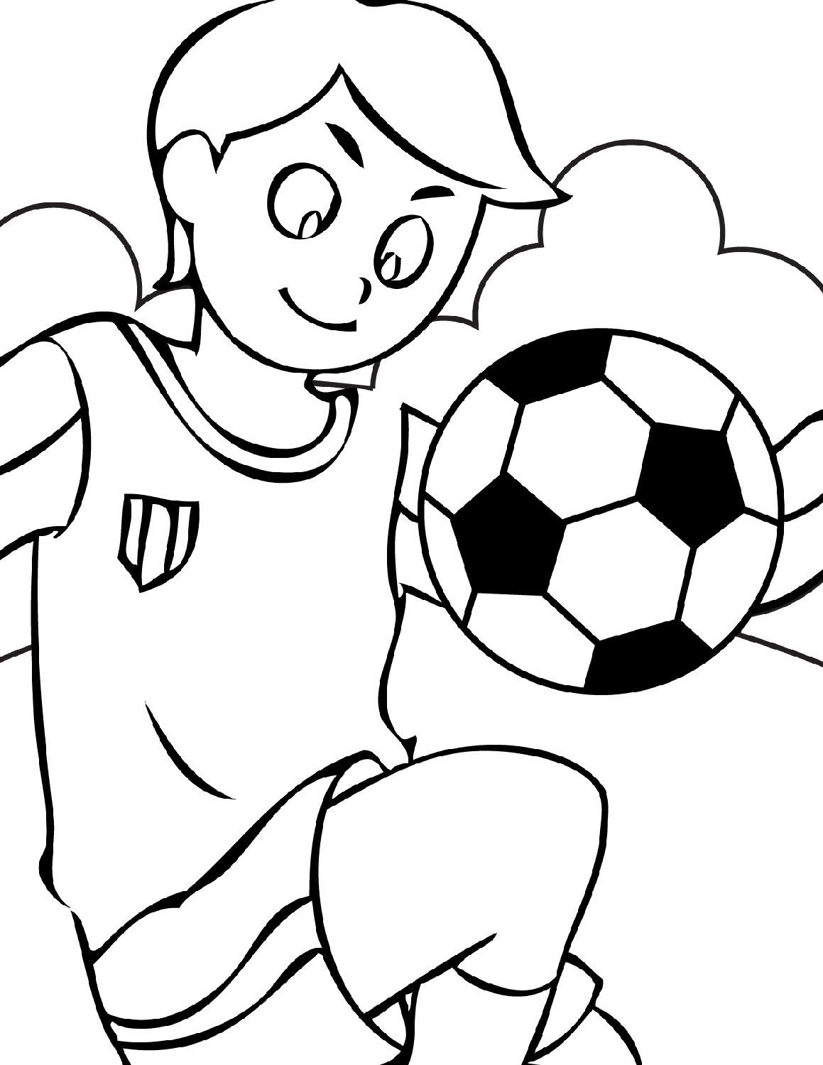 Soccer Worksheets For Kids Free