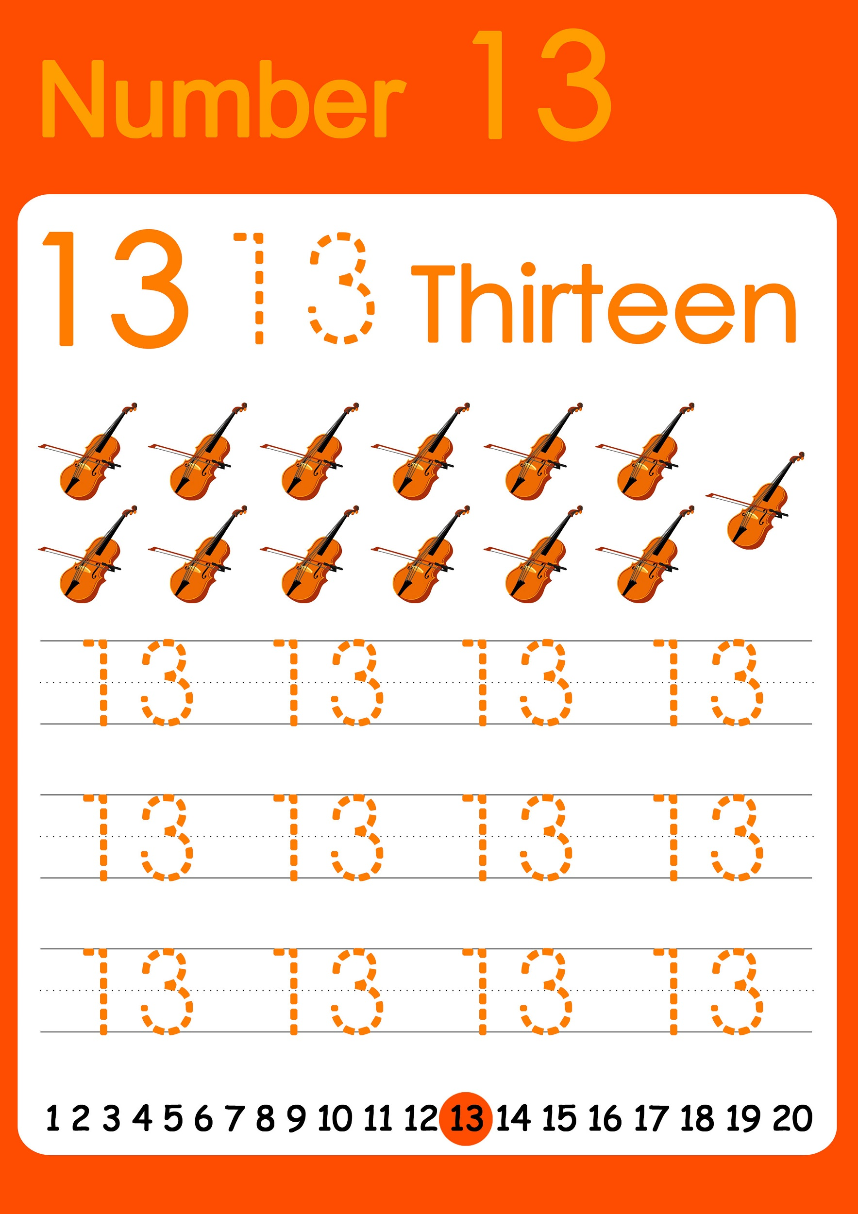 73 Printable Worksheet For Kindergarten Numbers Hd