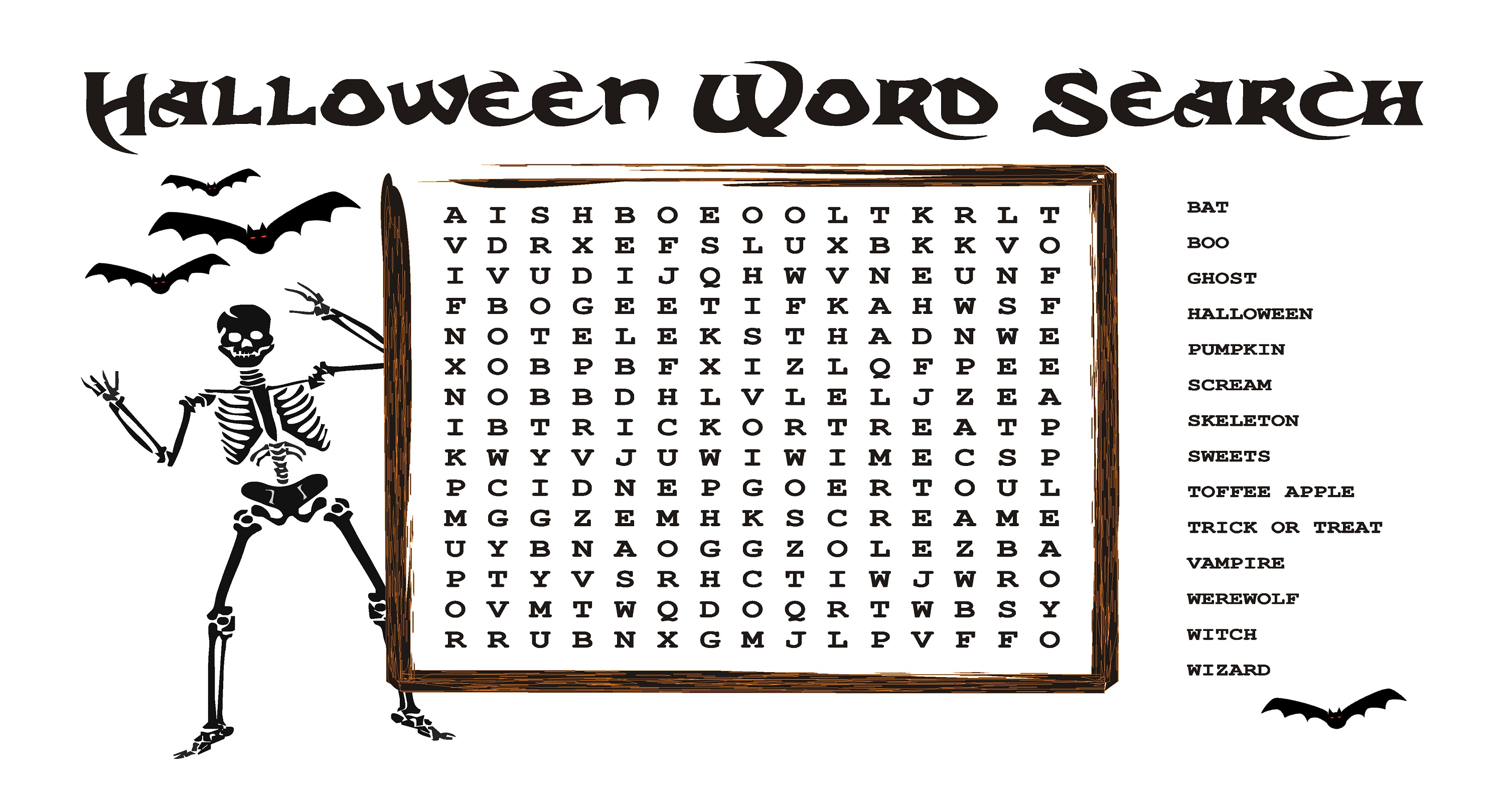 Fun Word Searches To Print