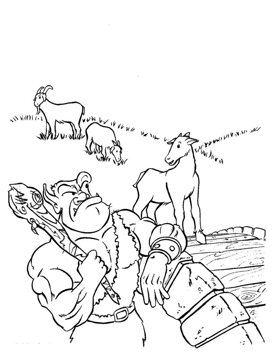 Free Three Billy Goat Gruff Activities Activity Shelter