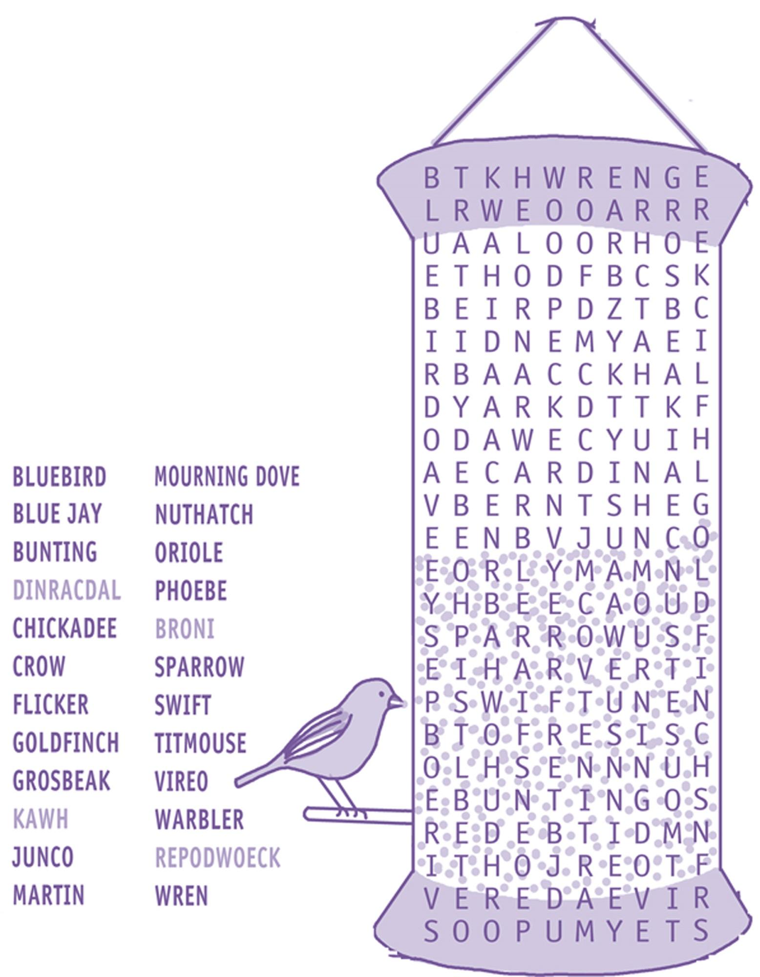 Printable Word Search For Kids
