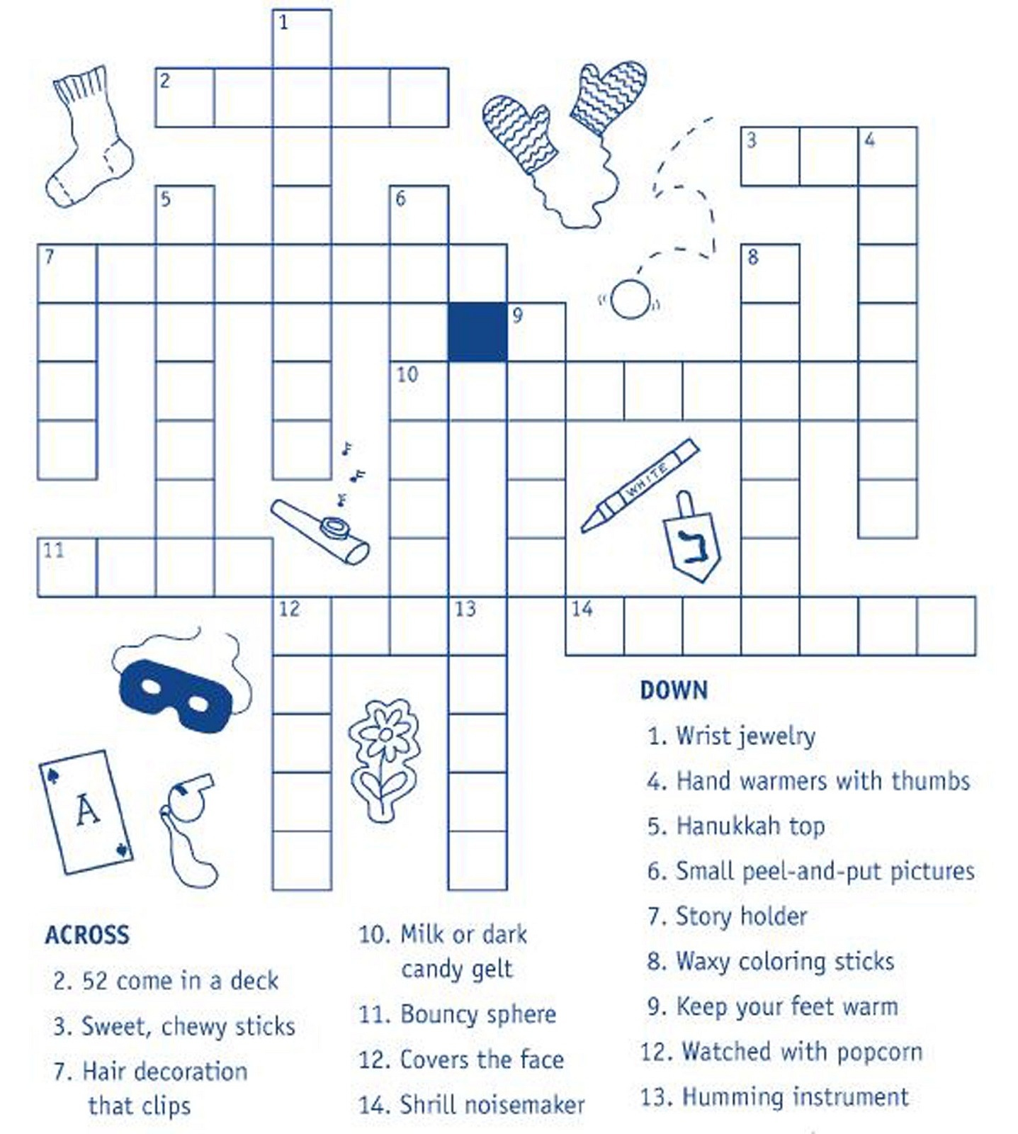 Kids Crossword Puzzles To Print