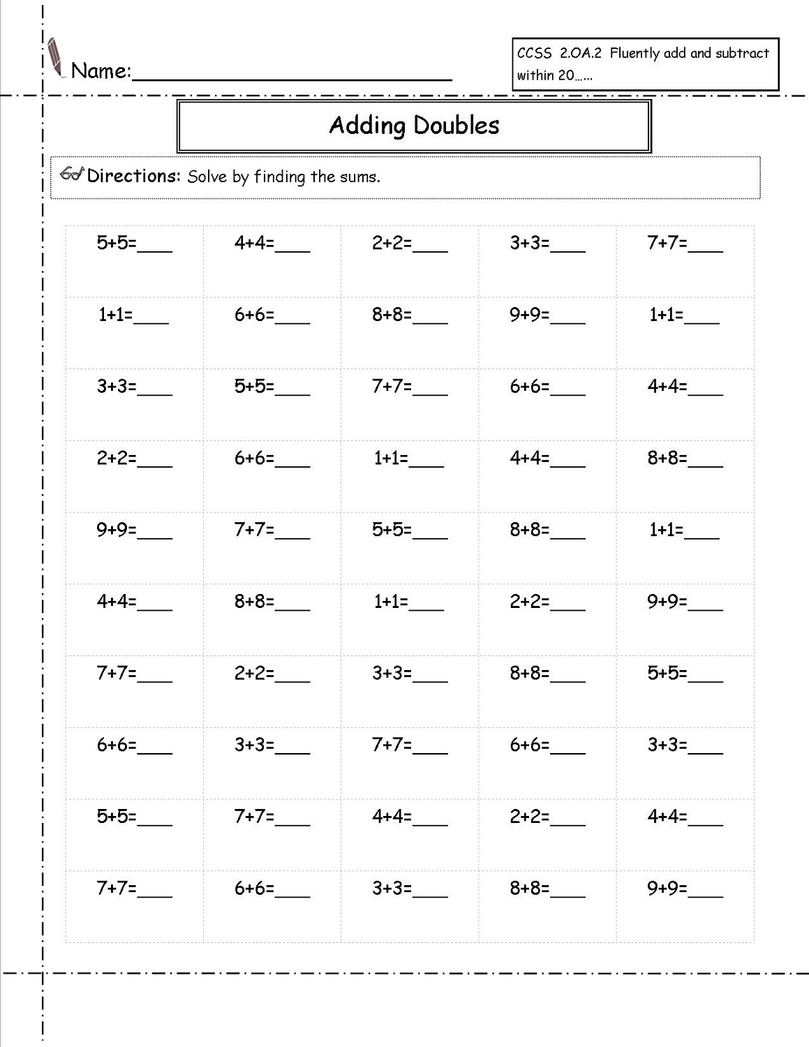 2nd Grade Eureka Math Worksheets