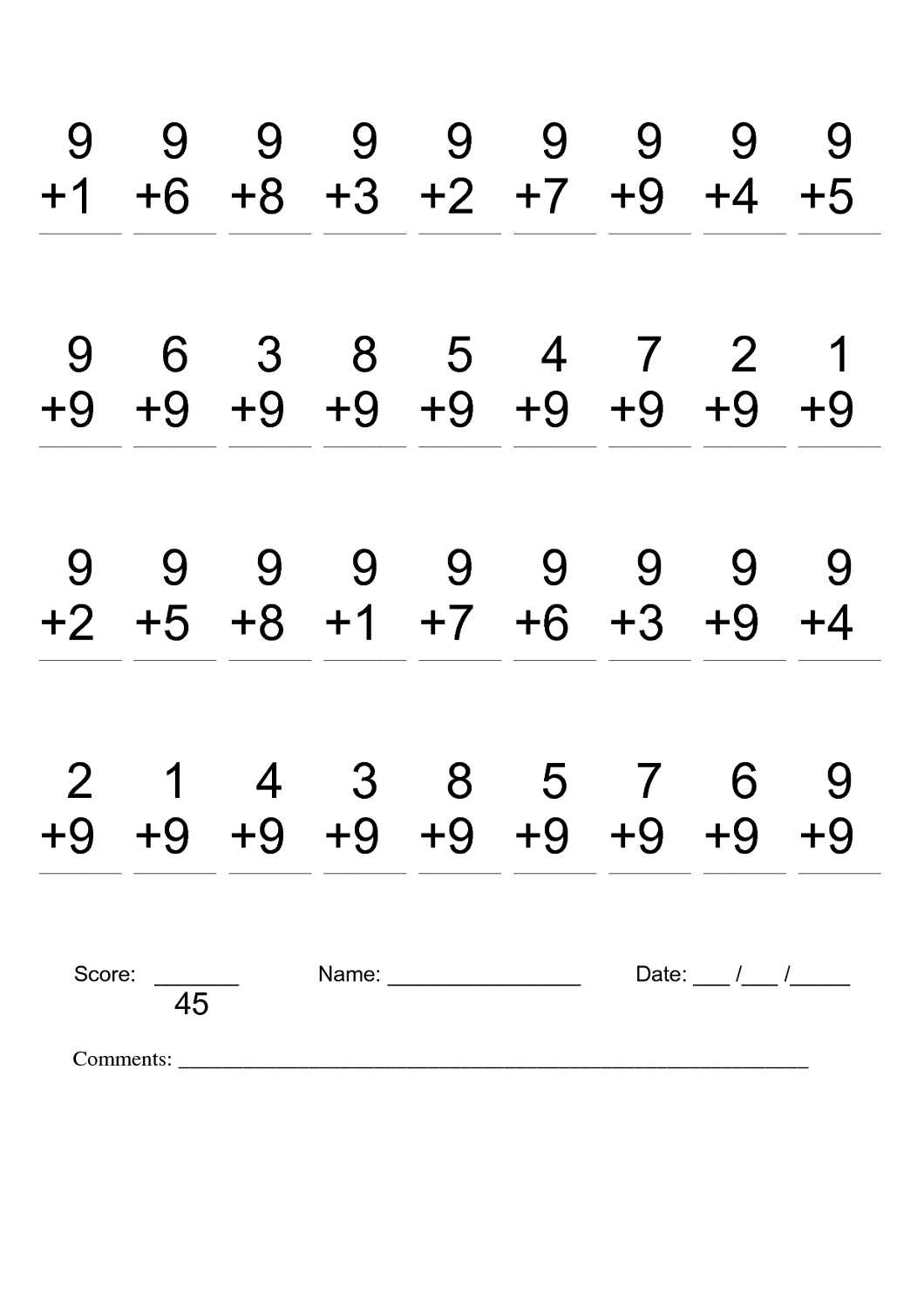 Second Grade Halloween Math Worksheet