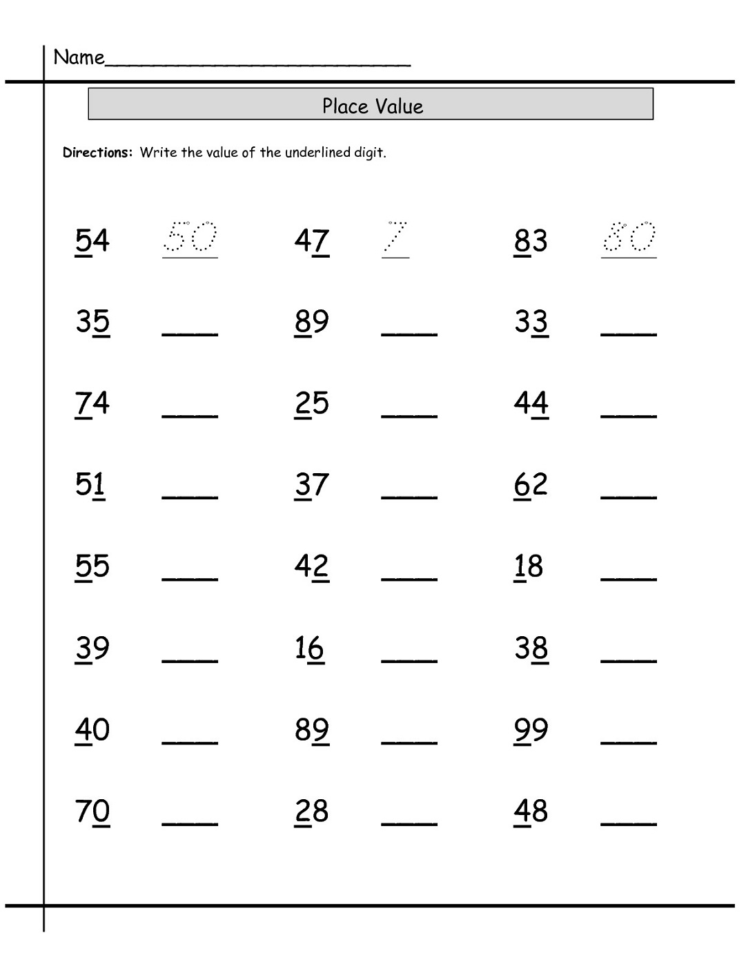 Free Worksheets For Teachers