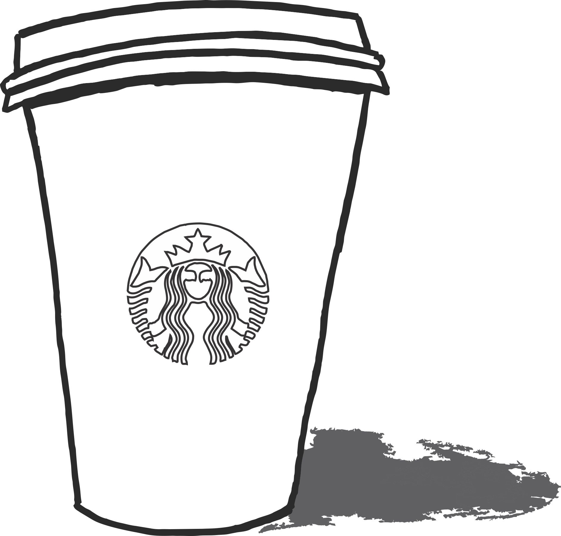 Starbucks Coloring Pages To Print