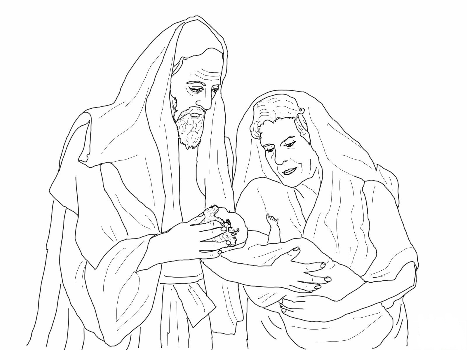Abraham And Sarah Coloring Pages