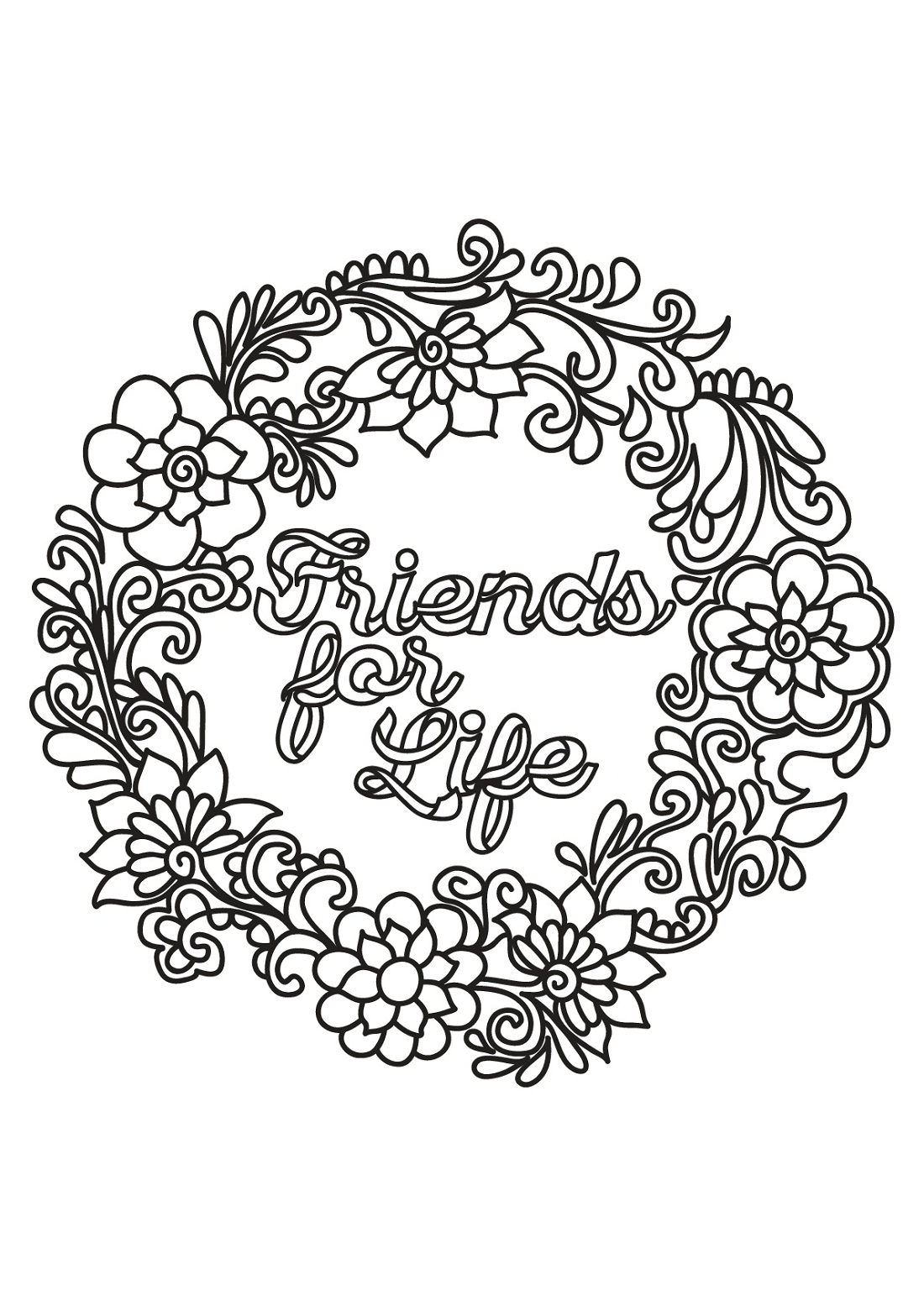 Quote and Sayings Coloring Pages   Activity Shelter   free printable colouring pages quotes