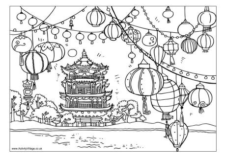 china coloring pages # 6