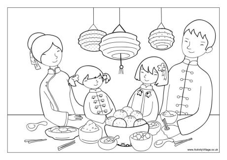china coloring pages # 24