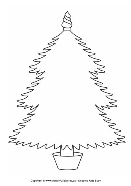 Christmas Tree Frame