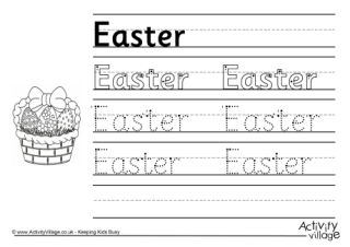 Learn To Draw Easter Pictures