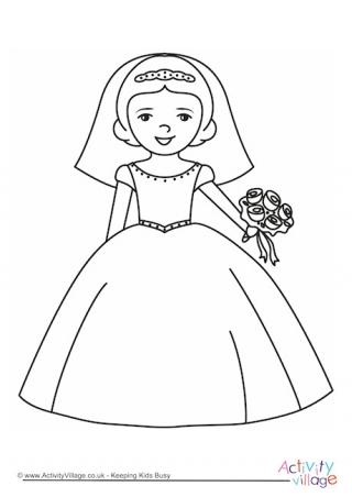 wedding coloring page # 24