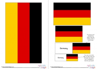 germany flag coloring page # 35