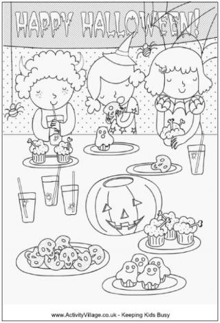 activity village halloween printables