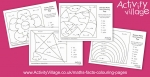 New Maths Facts Colouring Pages