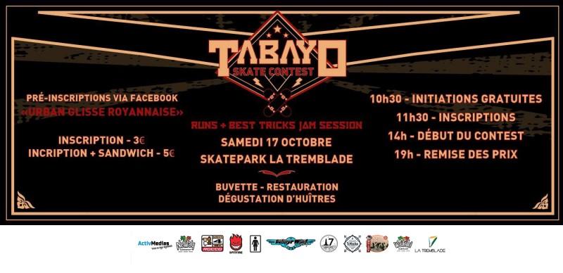 tabayo skate contest