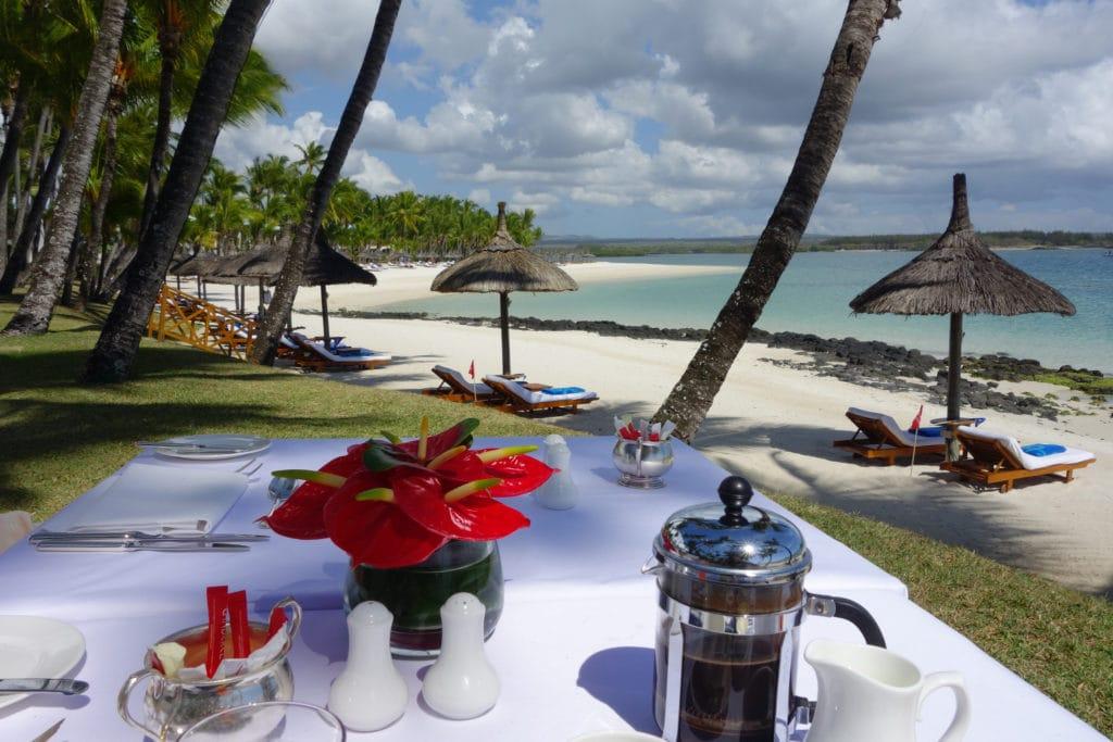 Tropical beach Mauritius