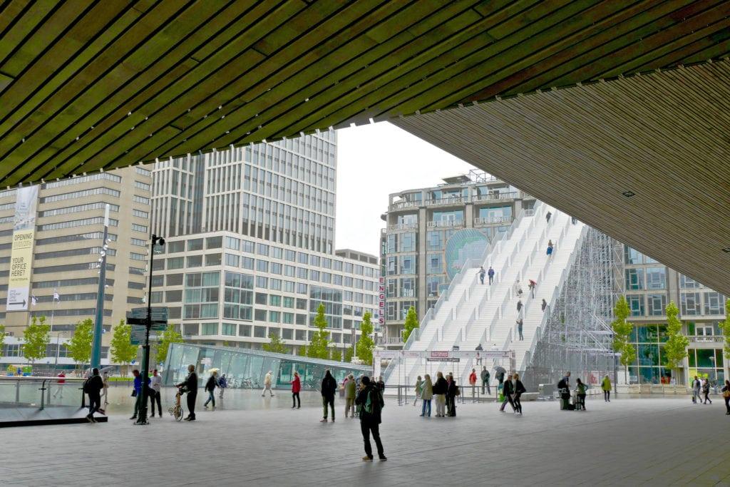 Rotterdam central station