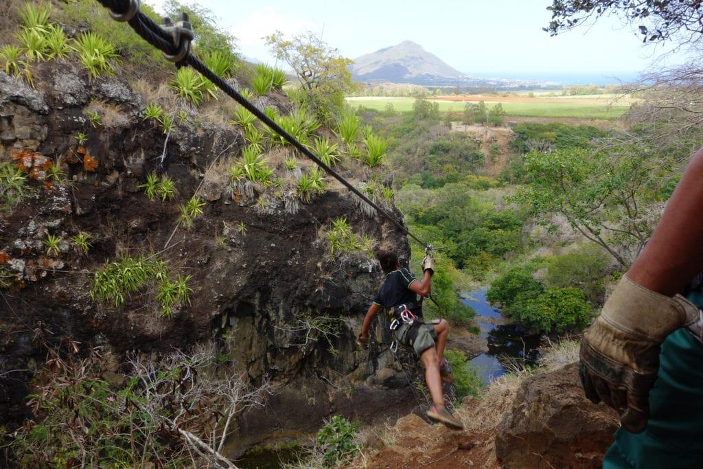 Ziplining Mauritius