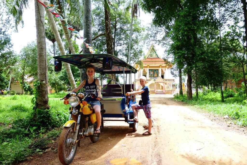 City of Battambang Cambodia