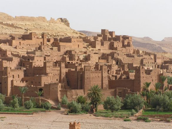 ait ben haddou with kids