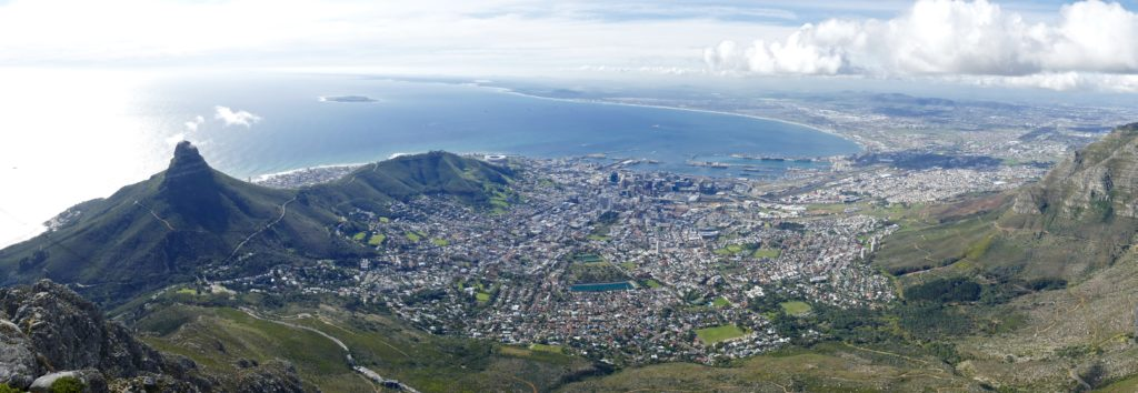 Table Mountain view