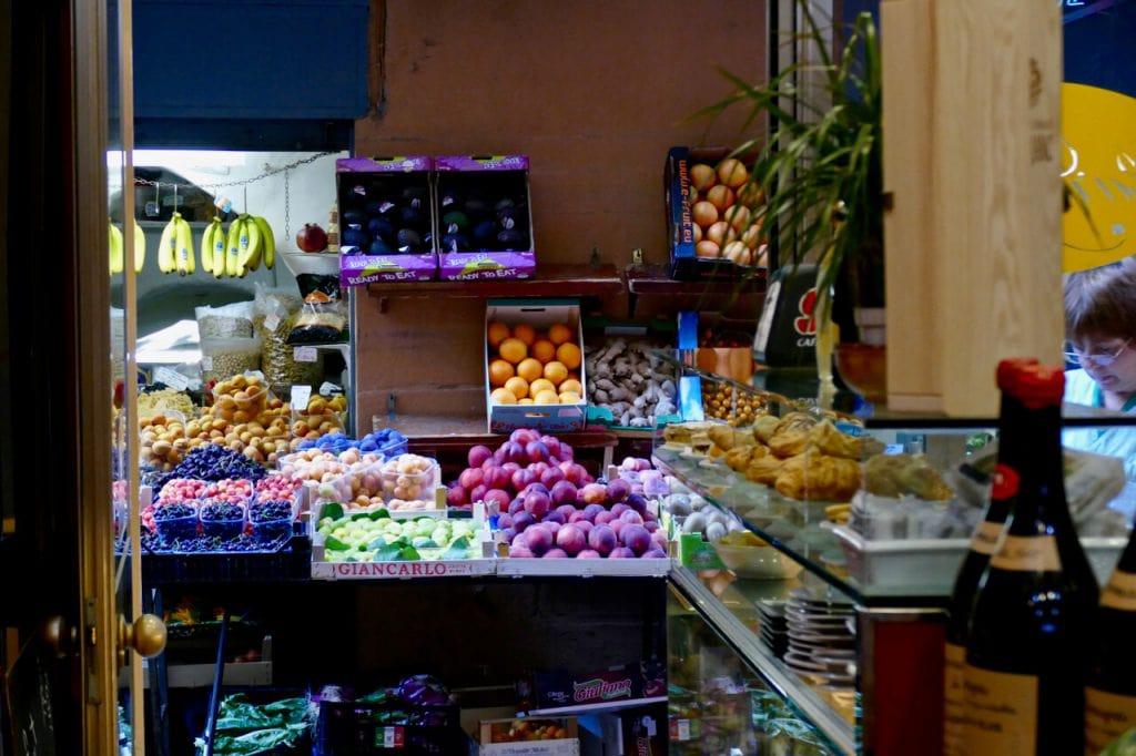 Food market Bologna