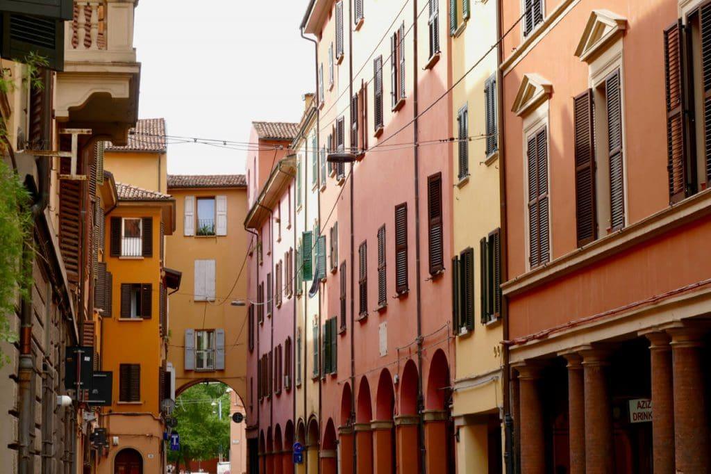 Medieval streets Bologna