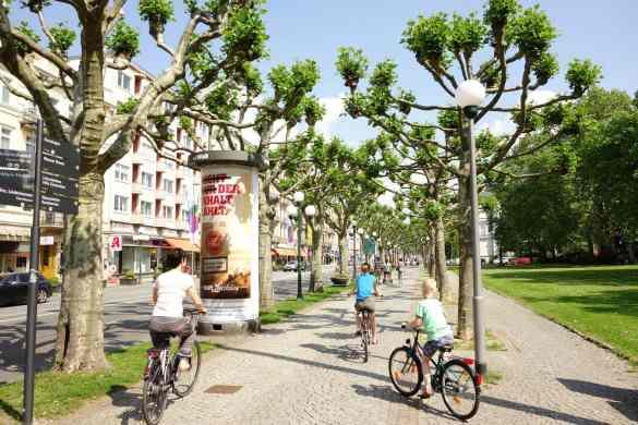 Biking in Wiesbaden