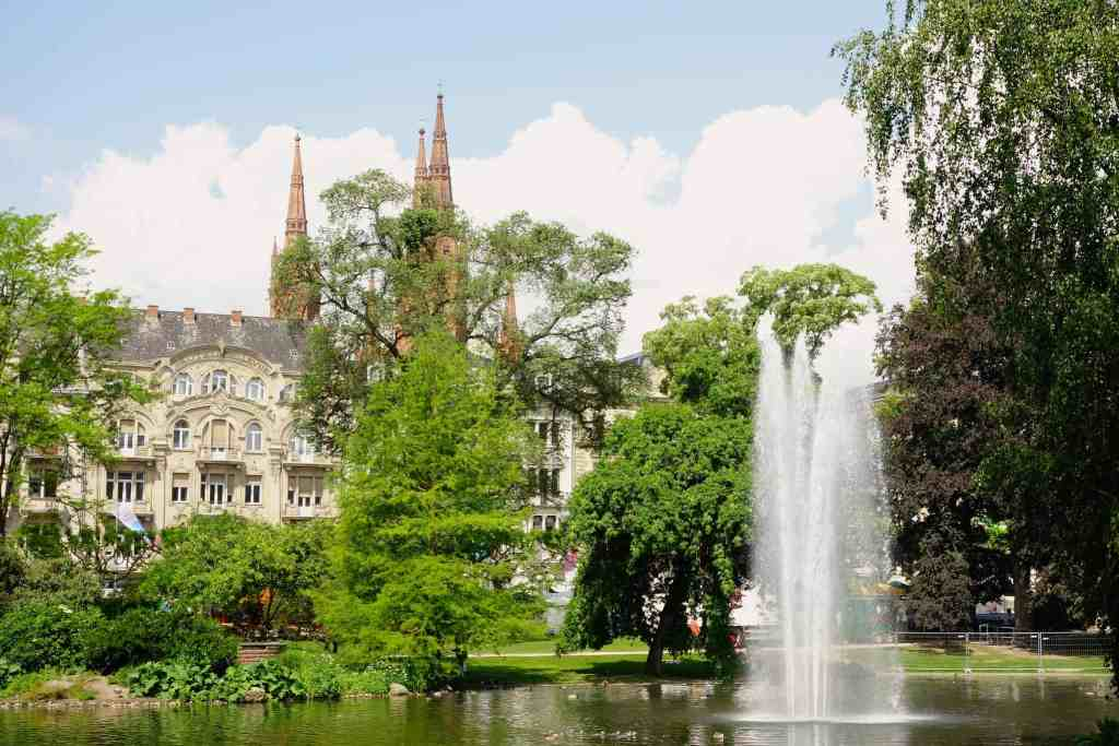 Fountain Wiesbaden