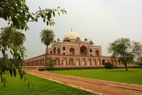 Humayun tomb view