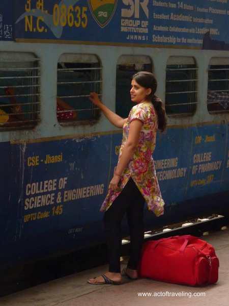 Train India goodbye