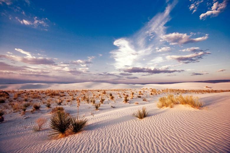 Surreal Places White Sands