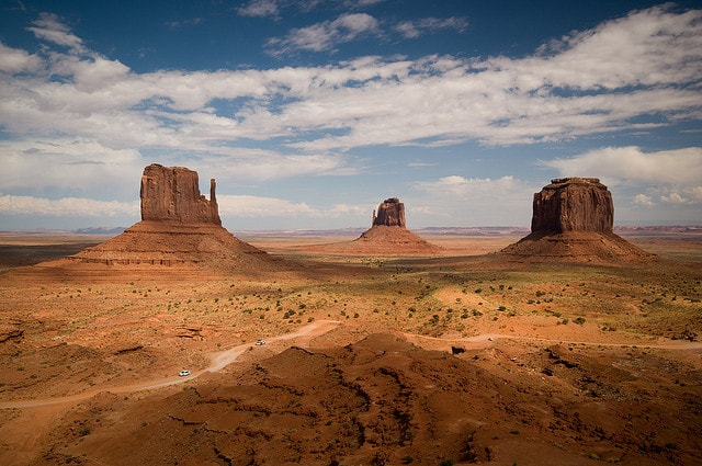 Surreal places Monument Valley
