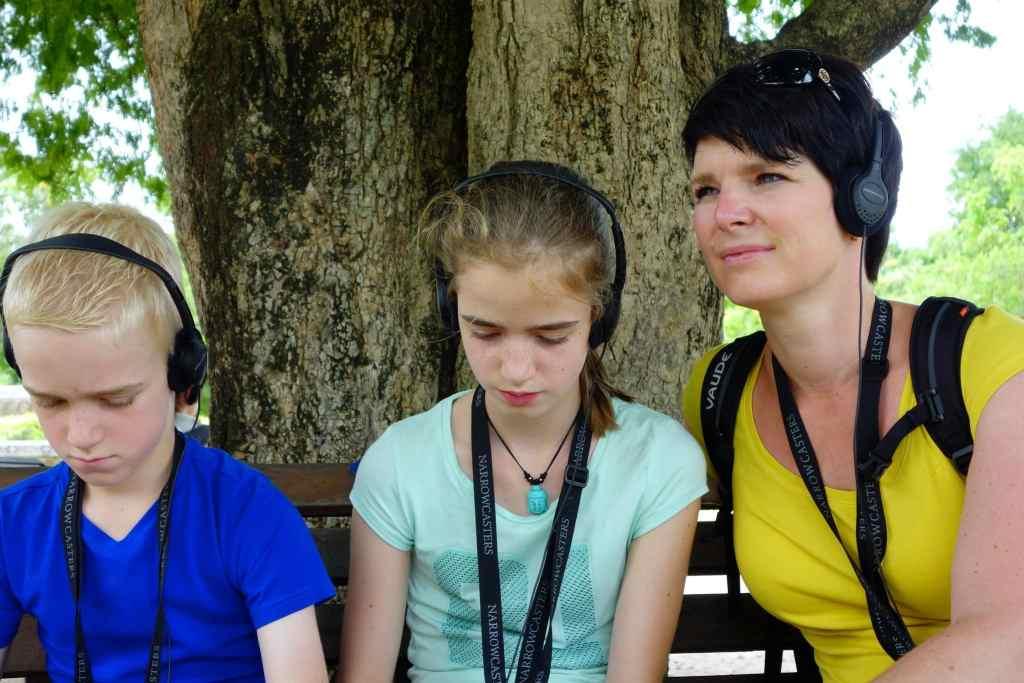 Audio tour Killing Fields kids