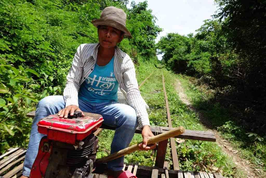 Driver bamboo train