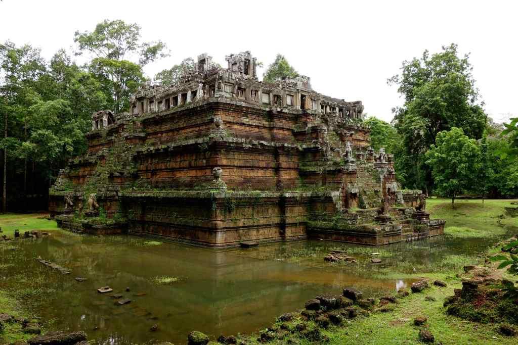 Unknown temple ruin at Angkor