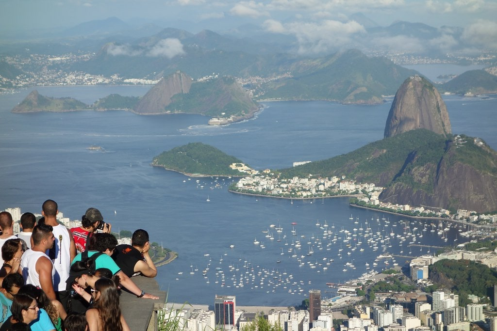 View of bay Rio De Janeiro