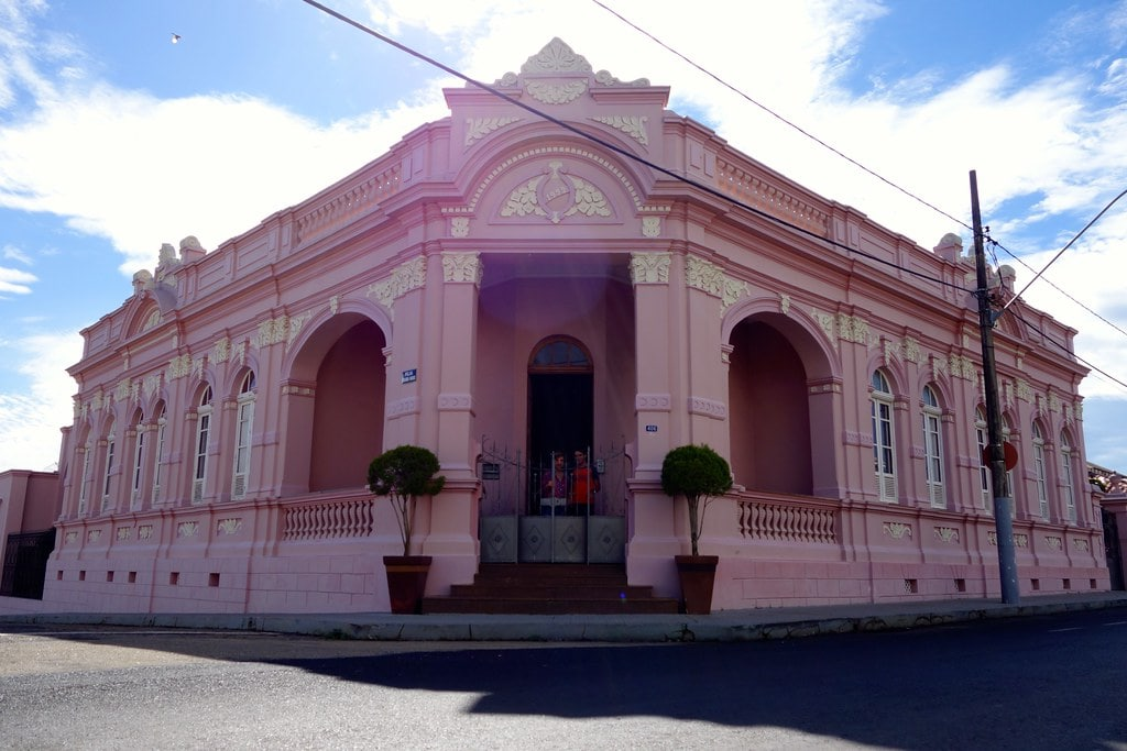 Pink house in Patrocinio