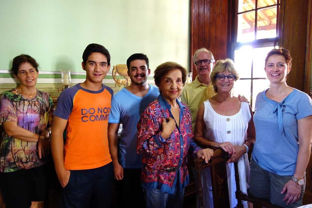 Meeting with Borges family in Patrocinio