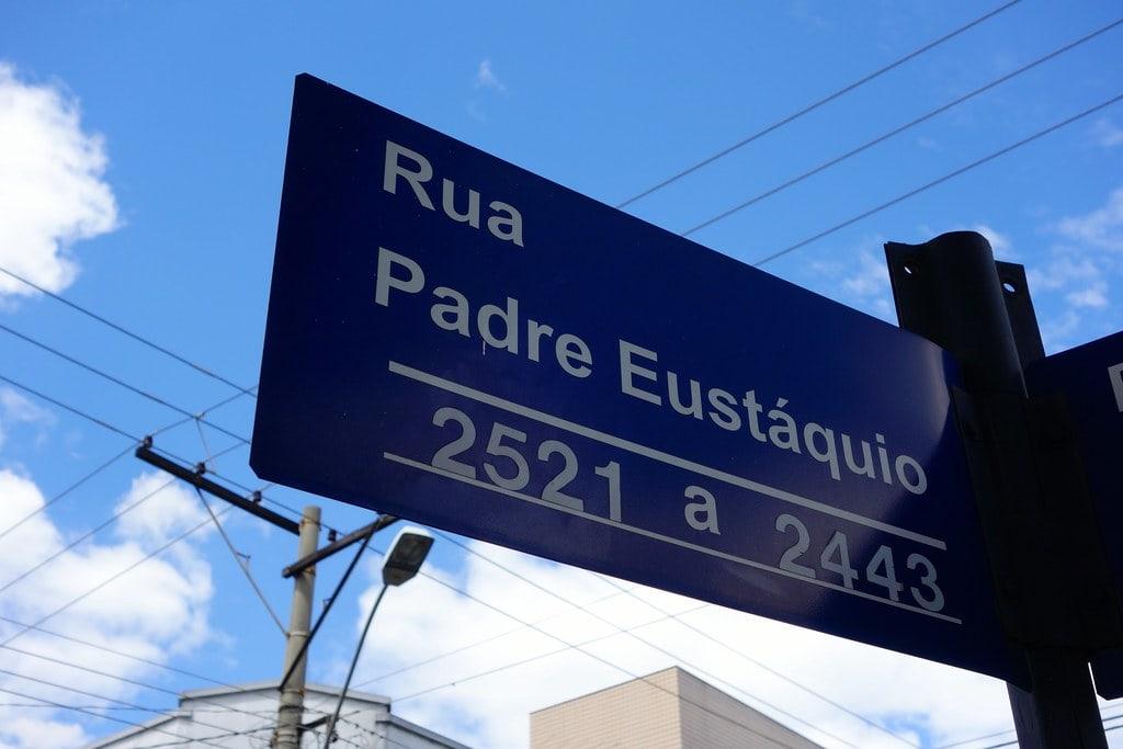 Rua Padre Eustaquio Belo H
