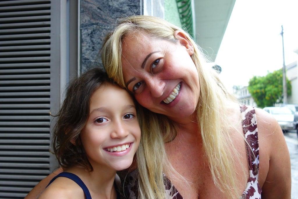 Mother and daughter Belo Horizonte