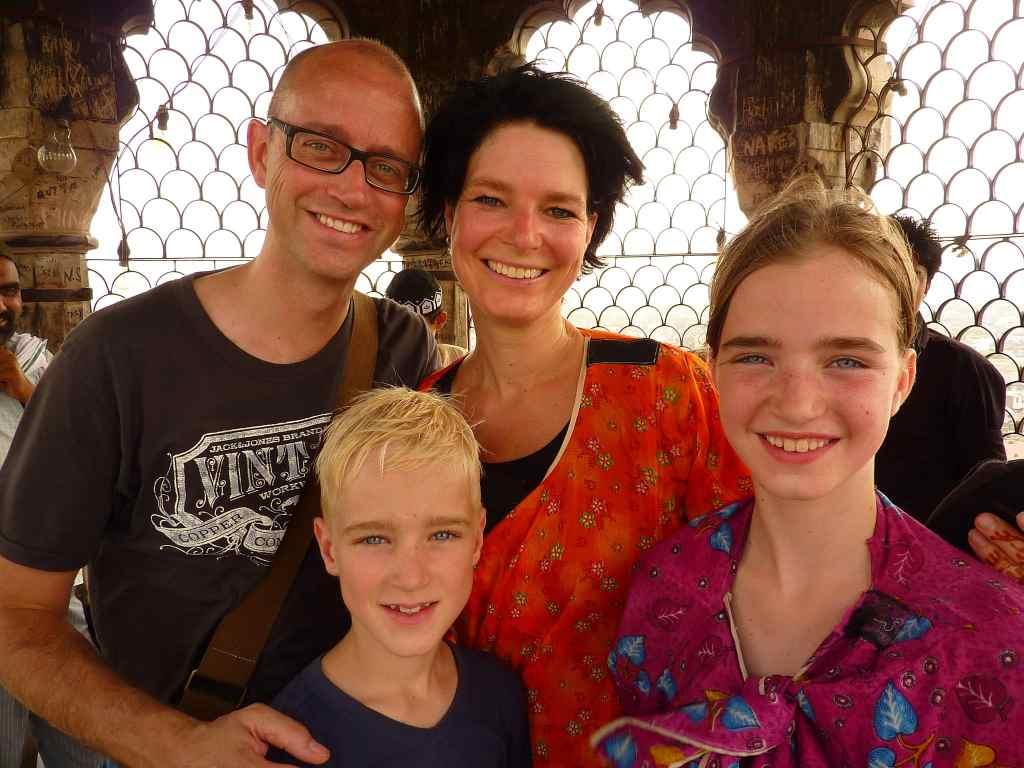 Family in India