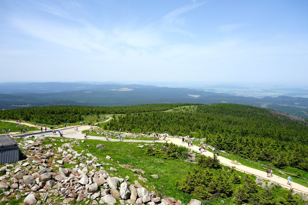 Top of Brocken mountain