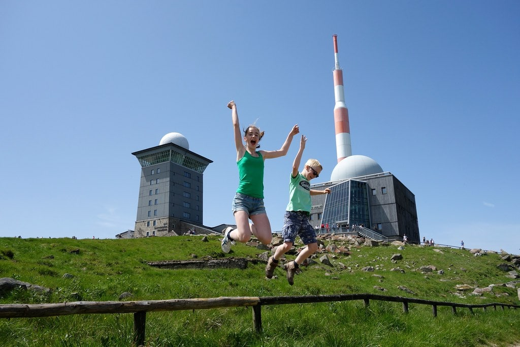 On top of Brocken mountain