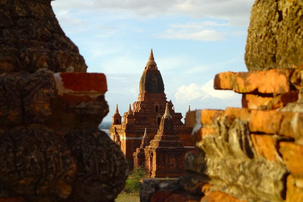 See through Bagan temple