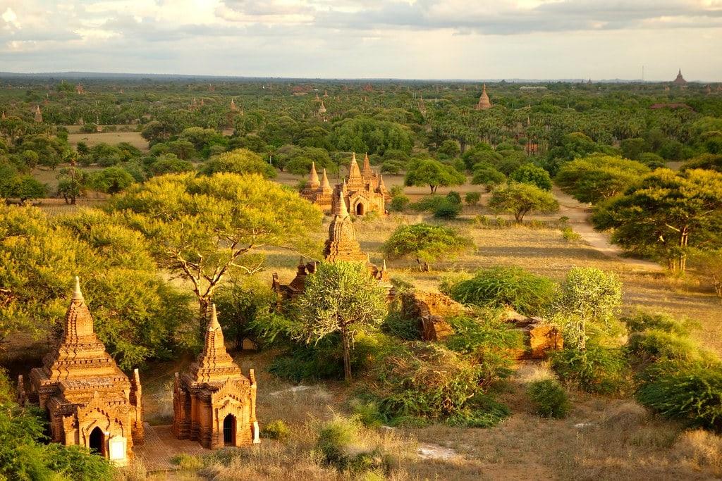 View on Bagan plains