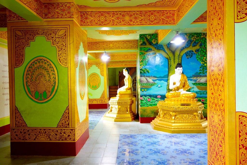 Inside the Buddha statue